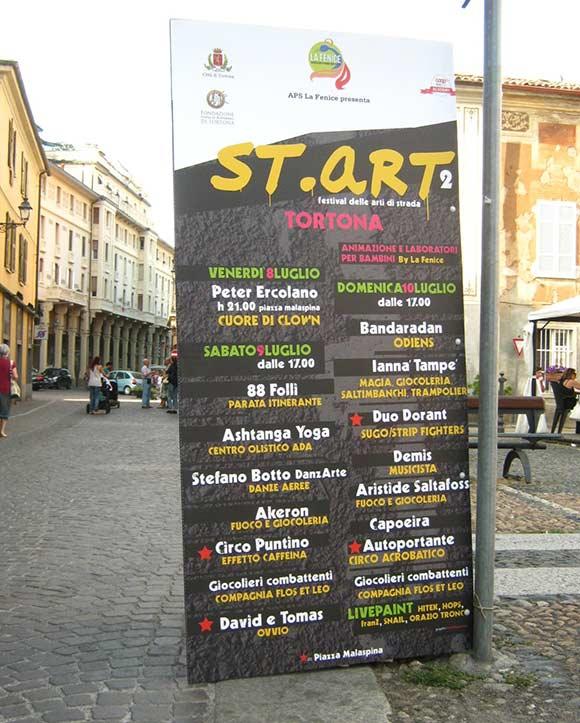St.Art 2 - manifesti e banner franZroom.net