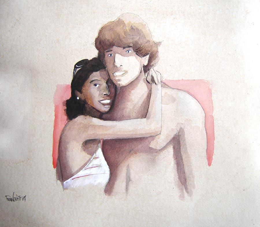 2007, un lustro di ClaRco - ritratto di Andrea Franzosi per la sorella Claudia - franzRoom.net