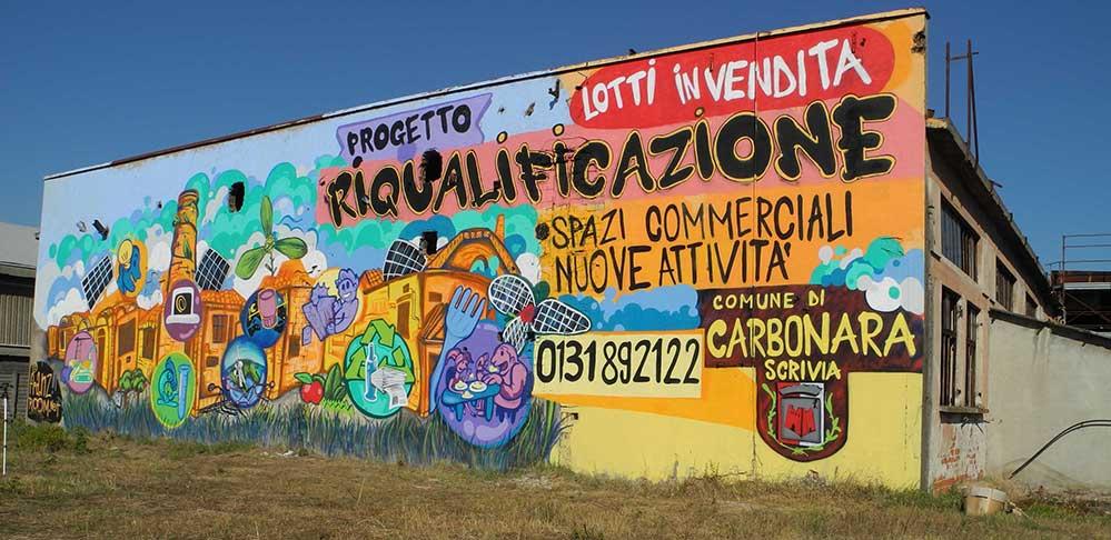 Ex Fonderia Castelli, Carbonara Scrivia AL - decorazione franzRoom.net
