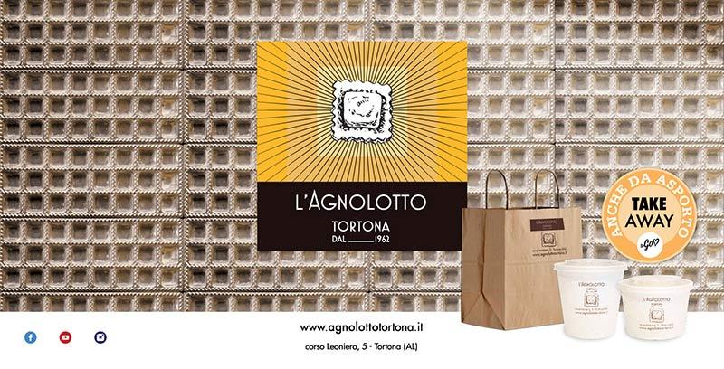 L'Agnolotto Tortona - grafiche Andrea Franzosi franzRoom.net