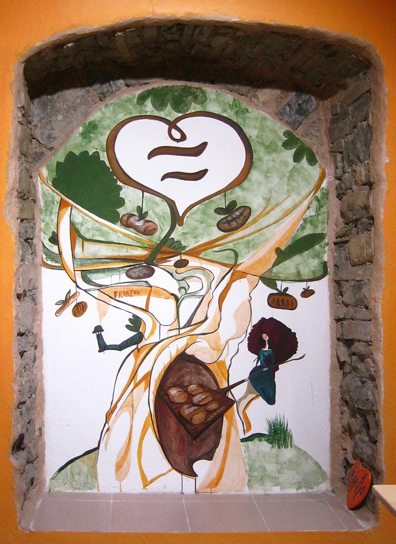 L'Albero del Pane - Decorazione @Cuore di Pane - Andrea Franzosi - www.franZroom.net