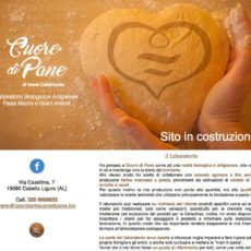 <em>Cuore di Pane</em> website