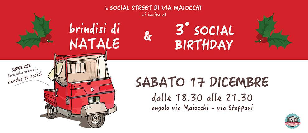 Social Street via Maiocchi - Livepaint di Andrea Franzosi - franzRoom.net