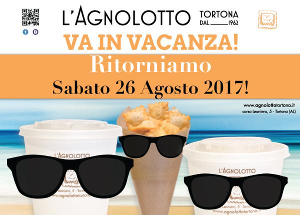 Agnolotto Tortona - Grafiche per sito web