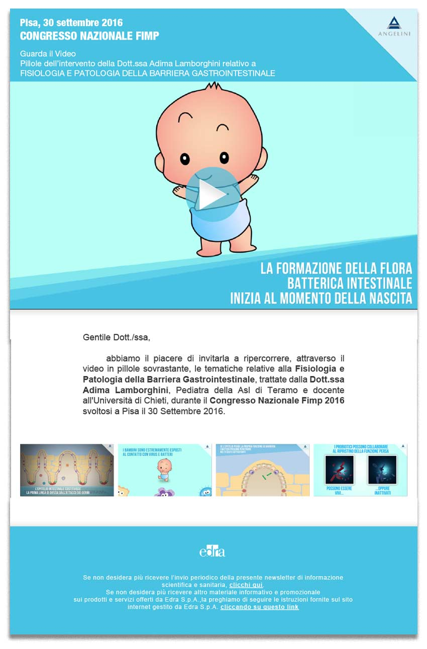 Grafica newsletter farmaceutica - franzRoom.net