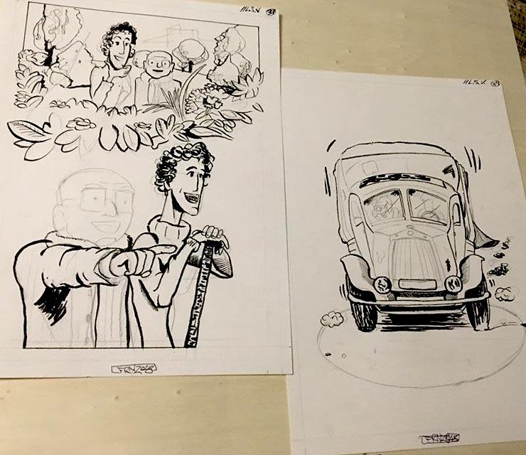 100 Scene da La Sposa Vestita, lavori in corso - franZroom.net