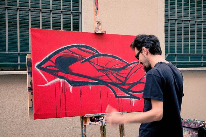 l'Arte Incontro Alla Gente - franZ by Viola Cappelletti