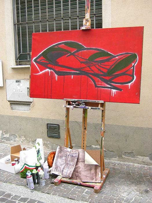 l'Arte Incontro Alla Gente - franZroom per stradA