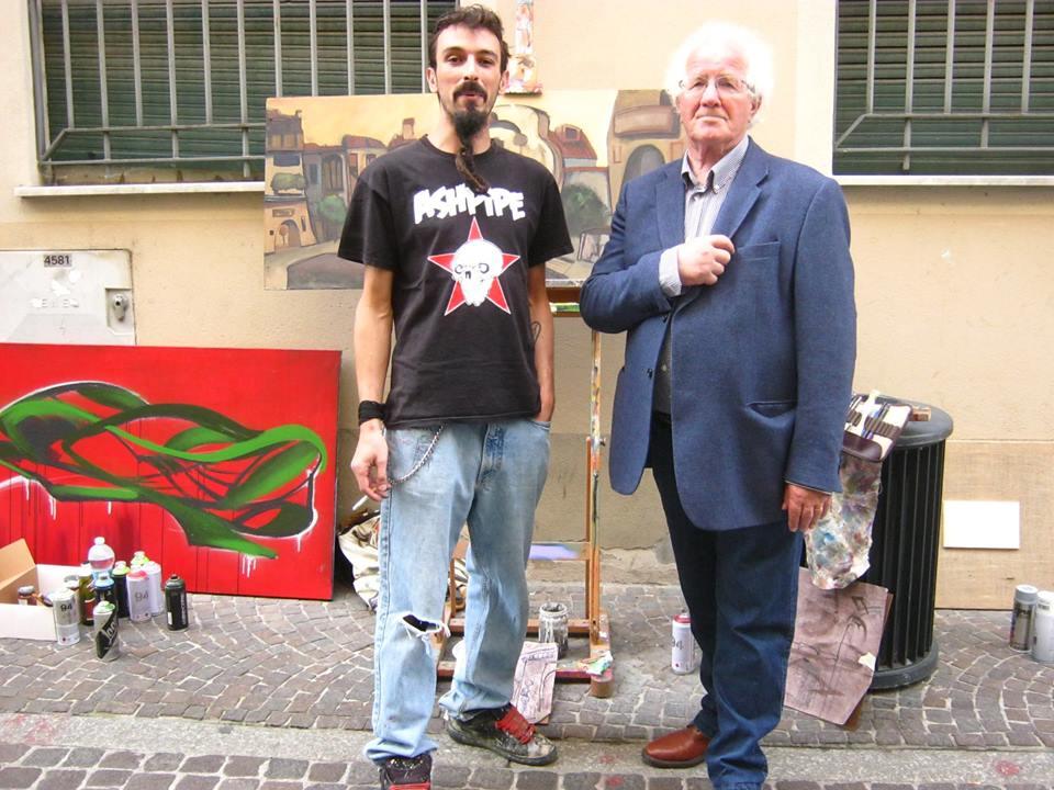 franZ con Angelo Lumelli - Tortona 2017