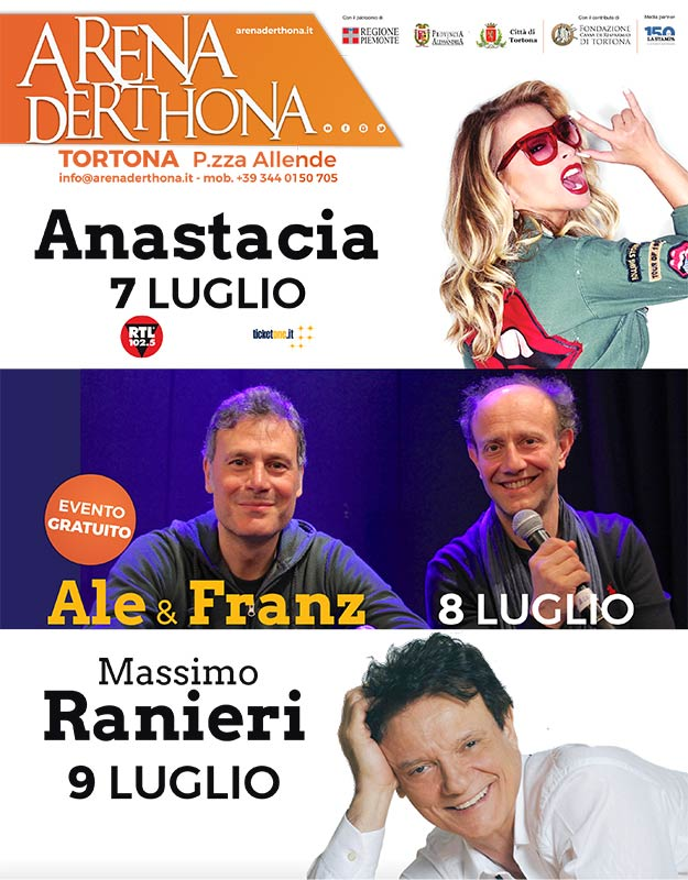 Arena Derthona 2017 - Manifesto - franzRoom.net