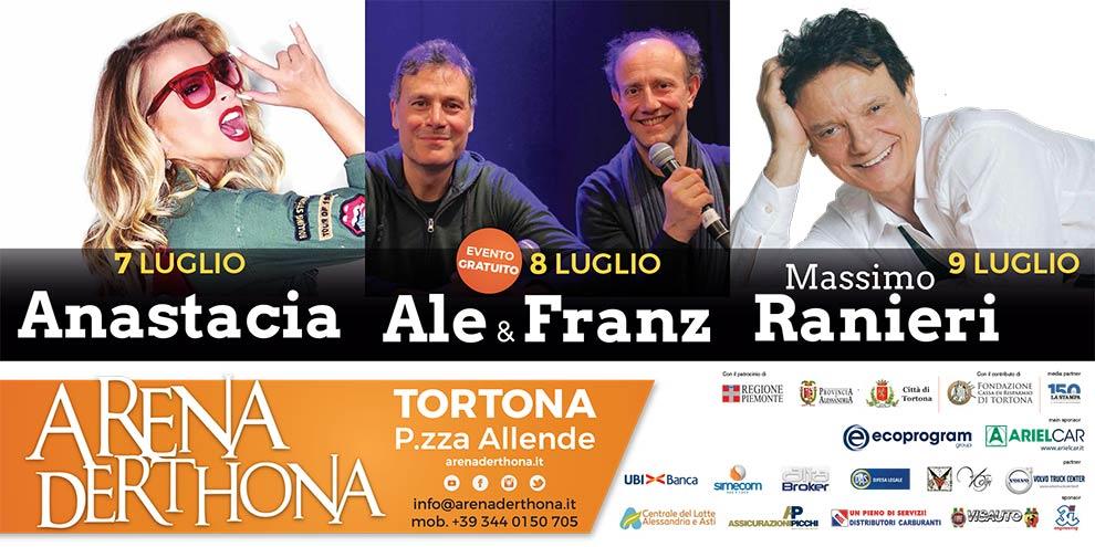 Arena Derthona 2017 - Poster orizz - franzRoom.net