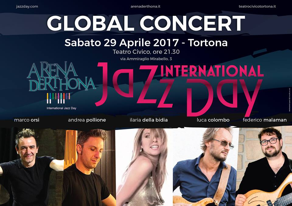 International Jazz Day 2017 Tortona - header Global Concert - franzRoom.net