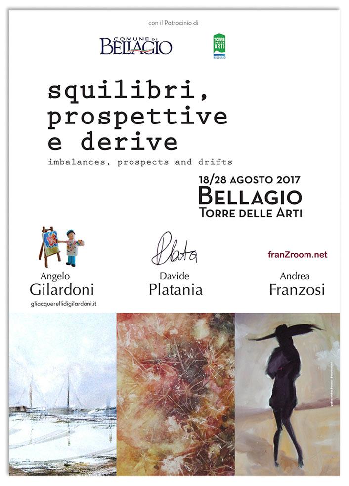 Squilibri, Prospettive e Derive - locandina franzRoom.net