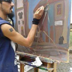 Livepaint @ <em>Naturalmente Ben-Essere</em>, Pozzolo Formigaro