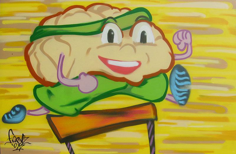 Pannelli a spray sull'Invecchiamento Mentale - Andrea Franzosi, franZroom.net