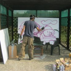 Livepaint e grafica @ Parco Lisino