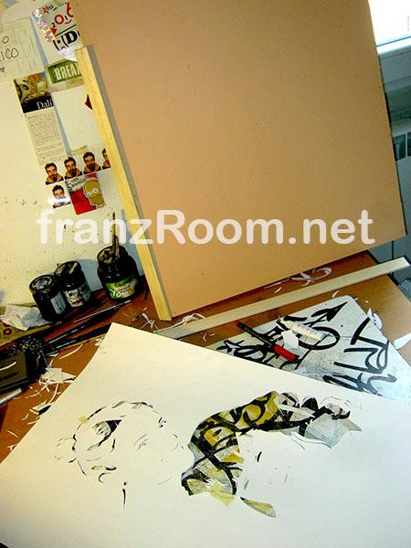 PrincipessandO - stencil - Andrea Franzosi - franzRoom.net