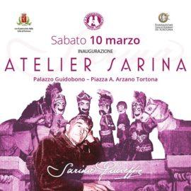Materiali inaugurazione <em>Atelier Sarina</em>