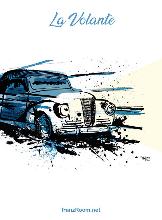 La Volante, illustrazioni OltrE il Po - franZroom.net