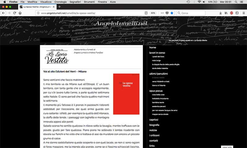 angelo Lumelli - webSite by franZroom.net