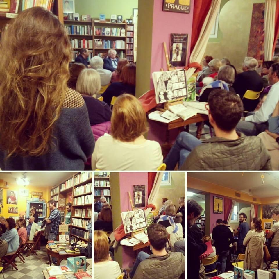 Presentazione di Angelo Lumelli alla Libreria Namastè - franZroom.net