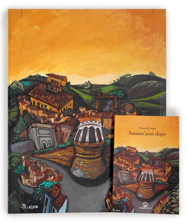 Tavola e copertina per Marcella Serpa - Andrea Franzosi, franZroom.net
