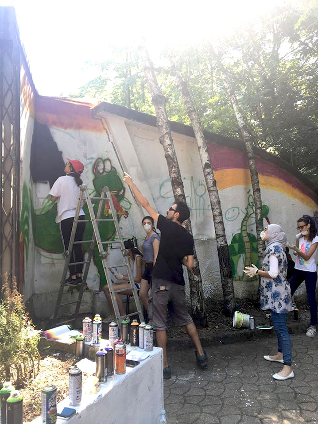 Laboratorio Fumetti a Spray per La Fenice APS - franZroom.net
