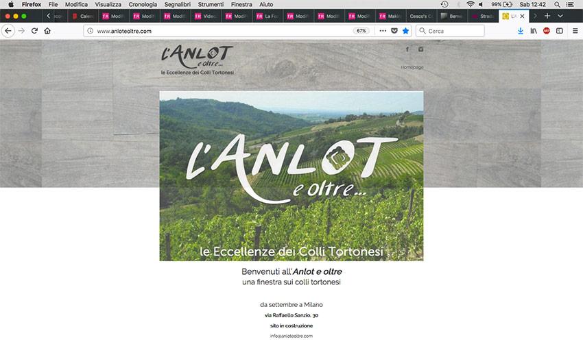 L'Anlot e Oltre - grafiche coordinate - courtesyPage - franZroom.net