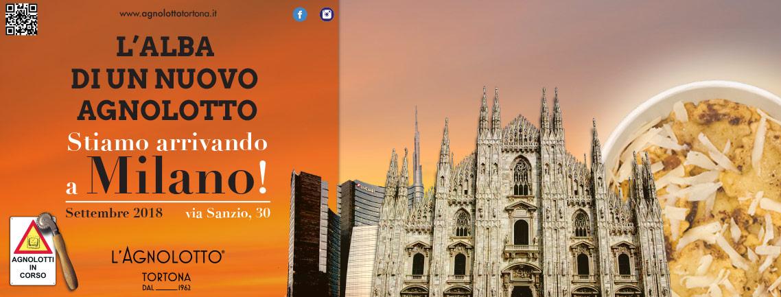 L'Agnolotto Tortona - L'Anlot e Oltre - header preapertura - franZroom.net