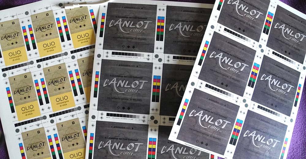 L'Anlotnlot e oltre - etichette prodotti - franZroom.net