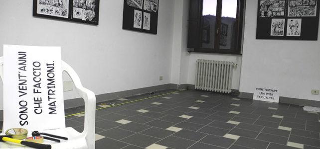 <em>Cento Scene da La Sposa Vestita</em>, tavole in esposizione @ Casa del Principe – San Sebastiano Curone