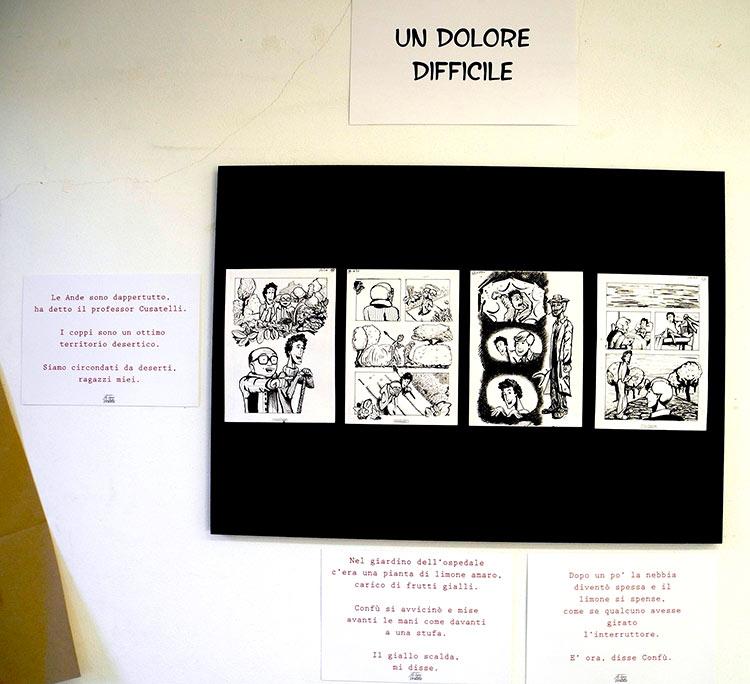 Cento Scene da la Sposa Vestita in esposizione, San Sebastiano Curone - franZroom.net