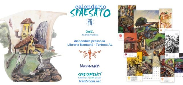 <em>CalendariO SpaesatO</em> 2019 alla Libreria Namastè