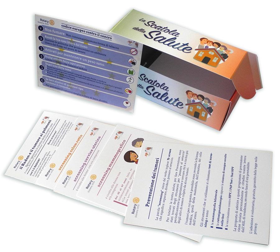 Le Scatole della Salute, grafica coordinata - franZroom.net