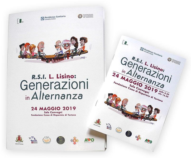 Convegno Generazioni in Alternanza - grafica coordinata - franZroom.net