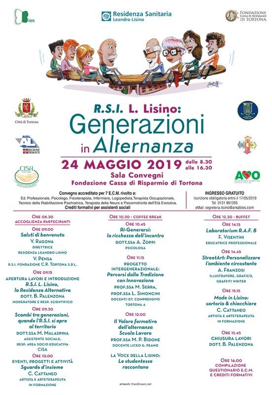 Convegno Generazioni in Alternanza - locandina - franZroom.net