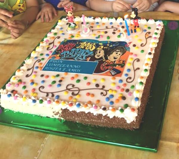 Rosy Amos, torta illustrata - franZroom.net