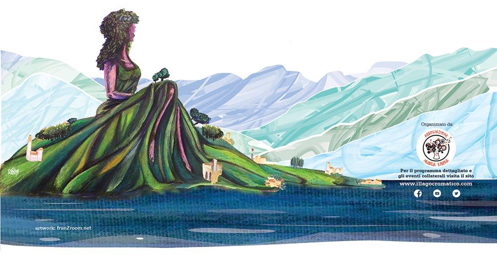 il Lago Cromatico - artwork 2019 - franzRoom.net