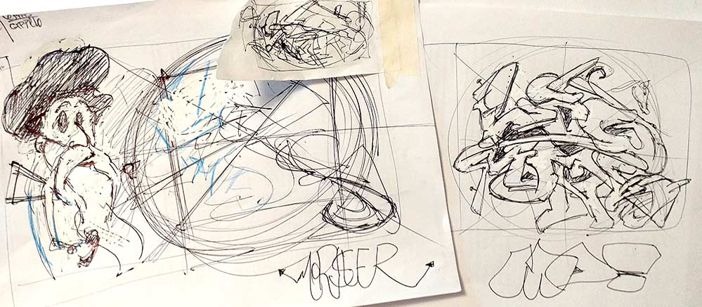 Sketch LeoMorS - franZroom.net