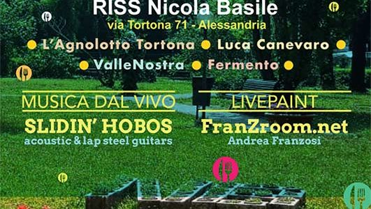 LivePainT @ Basile Street Food – Alessandria