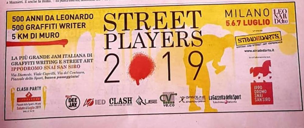 Street Players 2019 - Gazzetta dello Sport