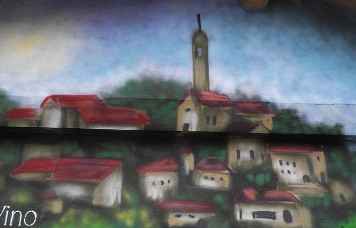 Artwork pesa pubblica Monleale di Andrea Franzosi - franZroom.net