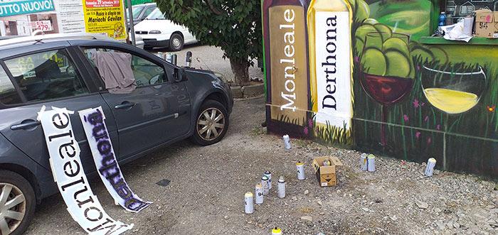 Artwork pesa pubblica Monleale - lavori in corsO - franZroom.net