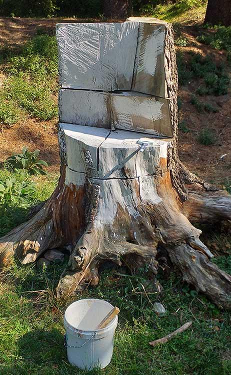 decorazione su troncO in corsO - franZroom.net