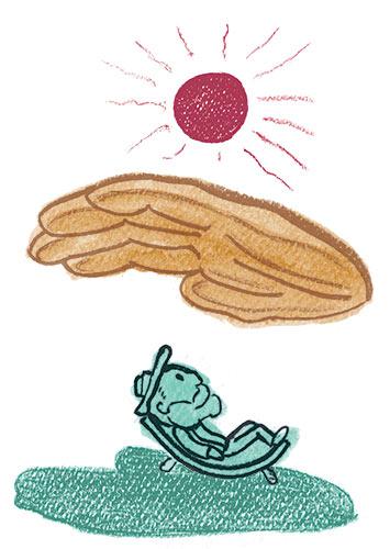 Il Gesto che Conta - illustrazione di Andrea FranZosi - franZroom.net