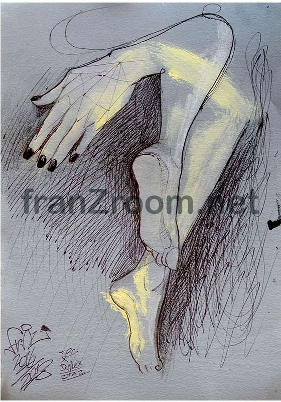 Studi Anatomici - AndreA FranZosi, franZroom.net
