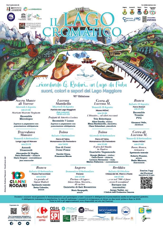 Il Lago CromaticO, artwork 2020 - Andrea FranZosi, franZroom.net