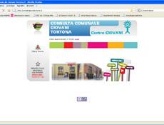 <em>Consulta Giovani Tortona</em> website