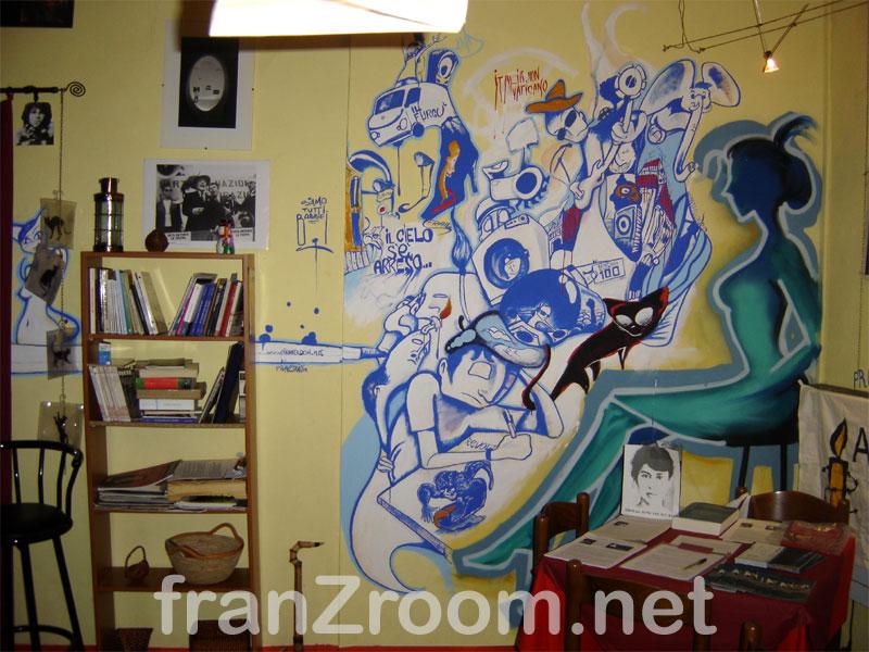 decorazione Le Chat Noir Tortona / Andrea Franzosi franzroom.net