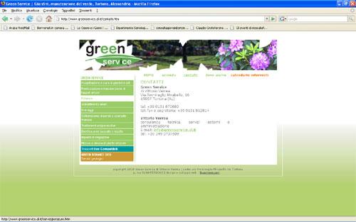 <em>Green Service</em> website